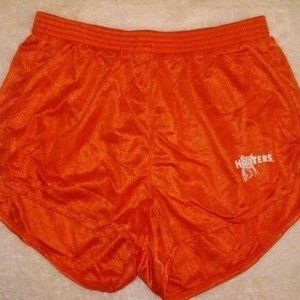 Hooters Girl Womens Orange Short Shorts 3 Extra Sm